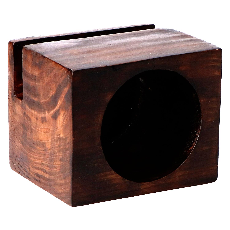 altavoz madera grande