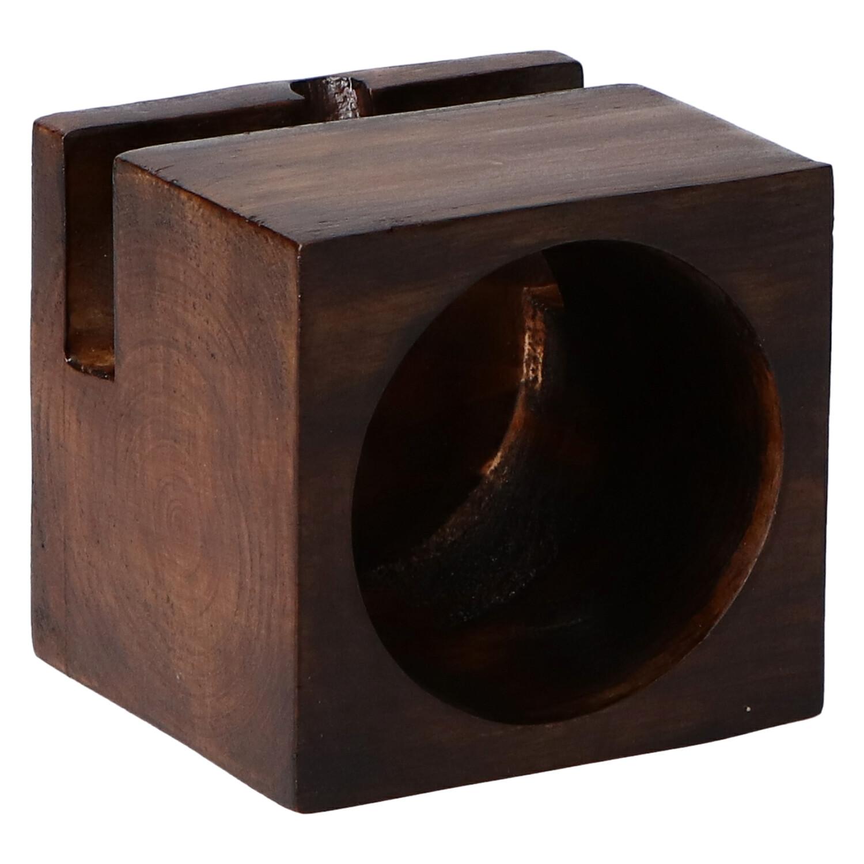 altavoz madera cubo mini