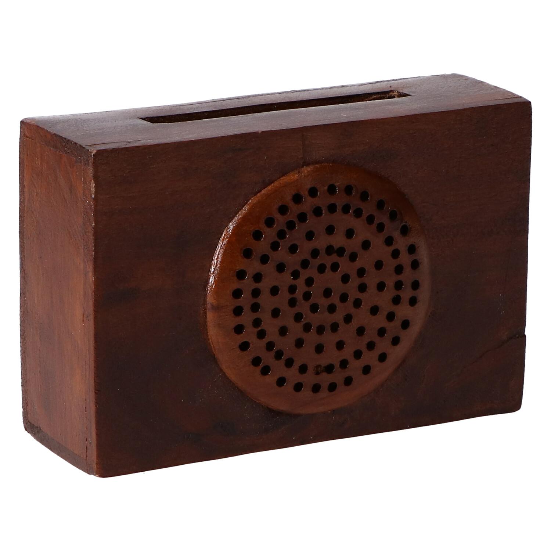 altavoz madera radio 1