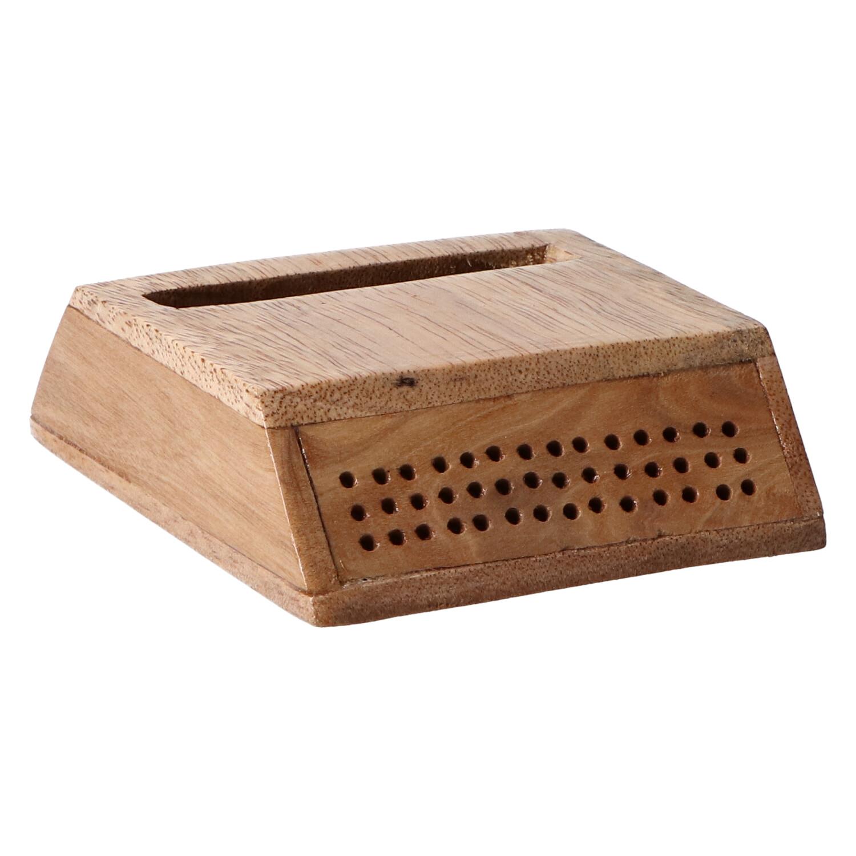 altavoz madera trapecio claro