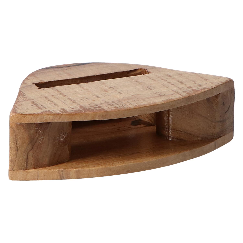 altavoz madera campana clara