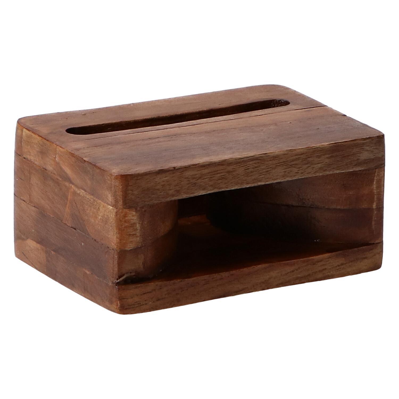 altavoz madera caja
