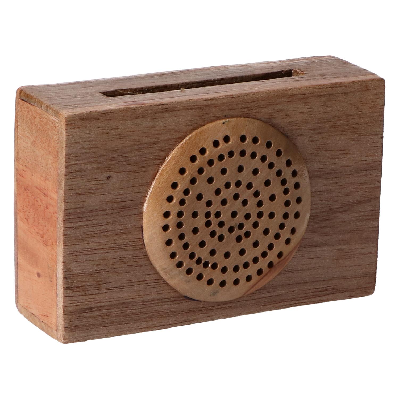altavoz de madera radio 1