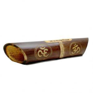 Altavoz bambú grabado Ohm