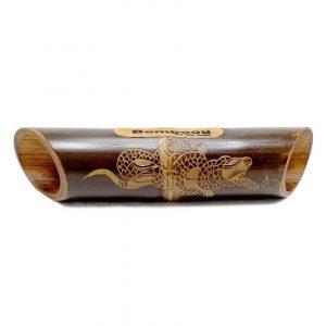 Altavoz bambú grabado Gecko Skin
